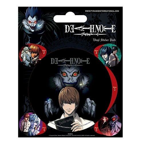Death Note Characters Vinyl Stickers Set Decals